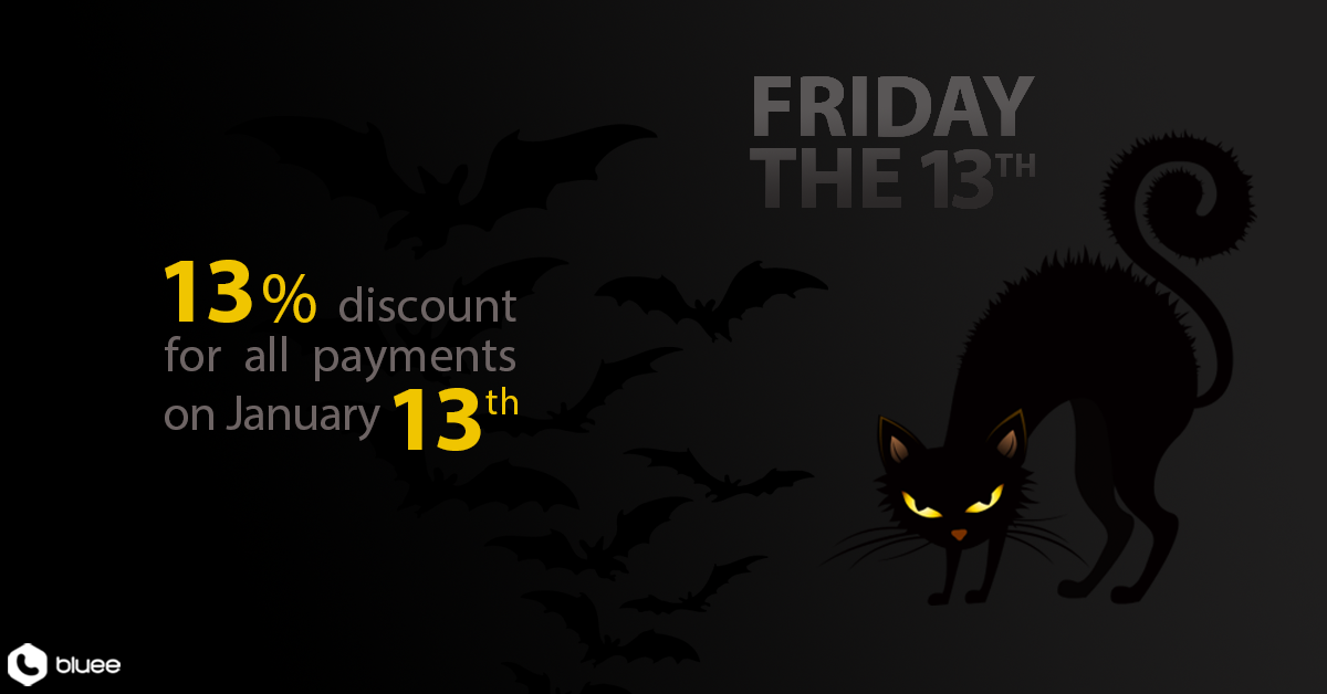 Make Friday The 13th Your Lucky Day