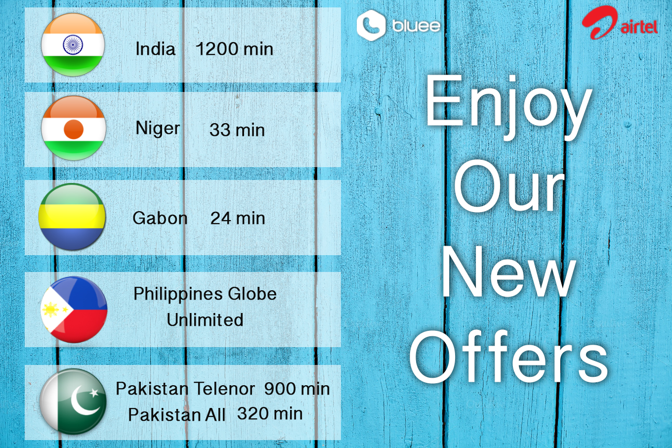Save on International Calls with Bluee