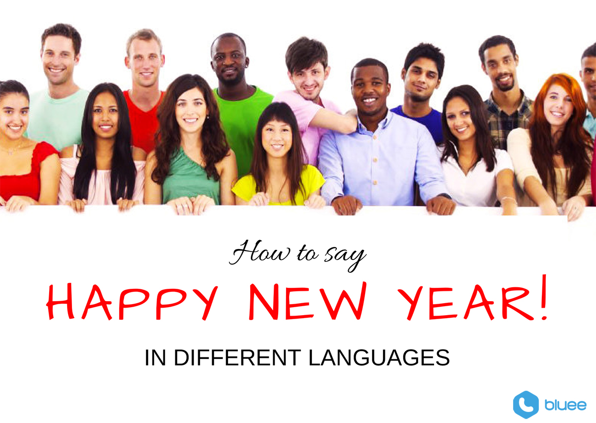 Be happy in different languages