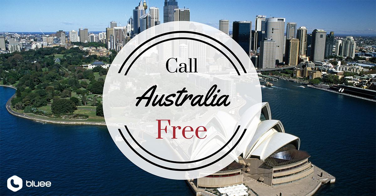 Call Australia for FREE