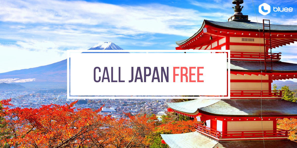 Call Japan for FREE