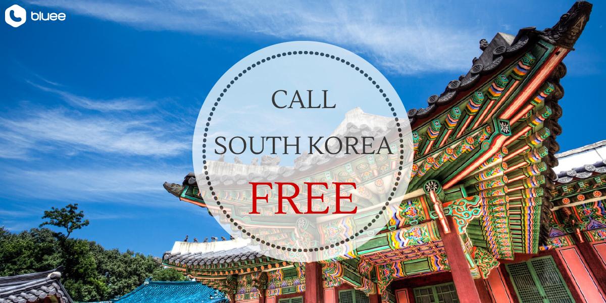 Call South Korea for FREE