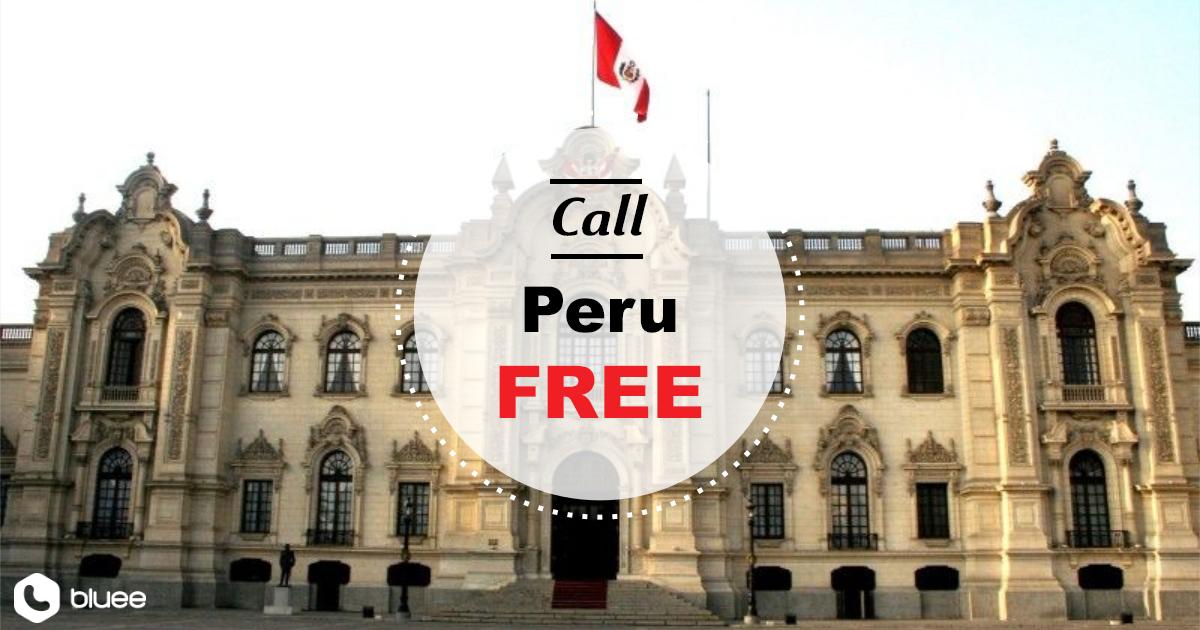 Call Peru for FREE