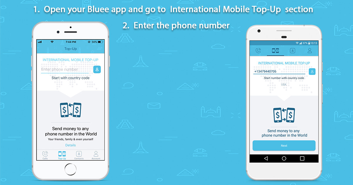 How to do International and Domestic Mobile Top–Ups via