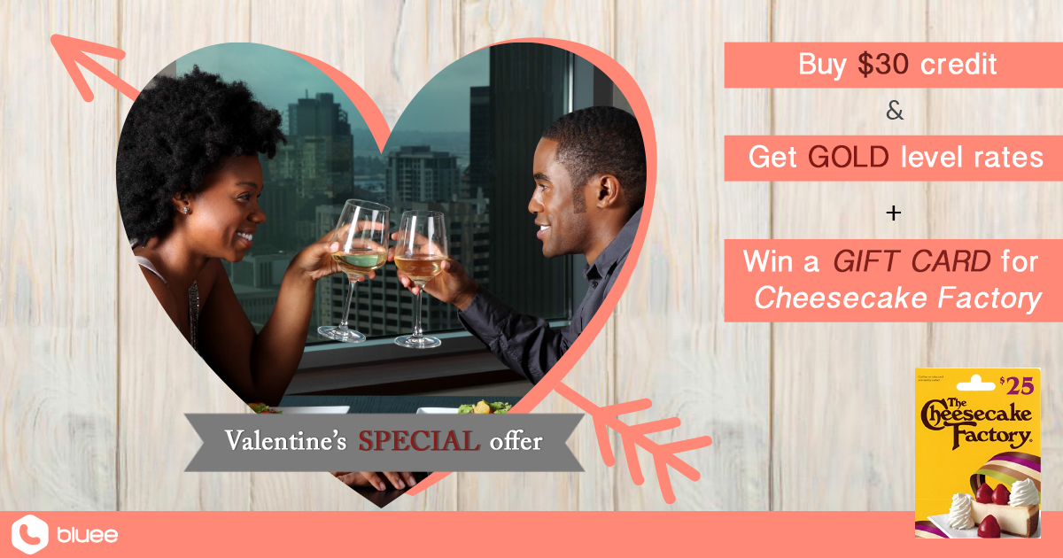 WIN your Valentine's heart with a sweet date at Cheesecake Factory
