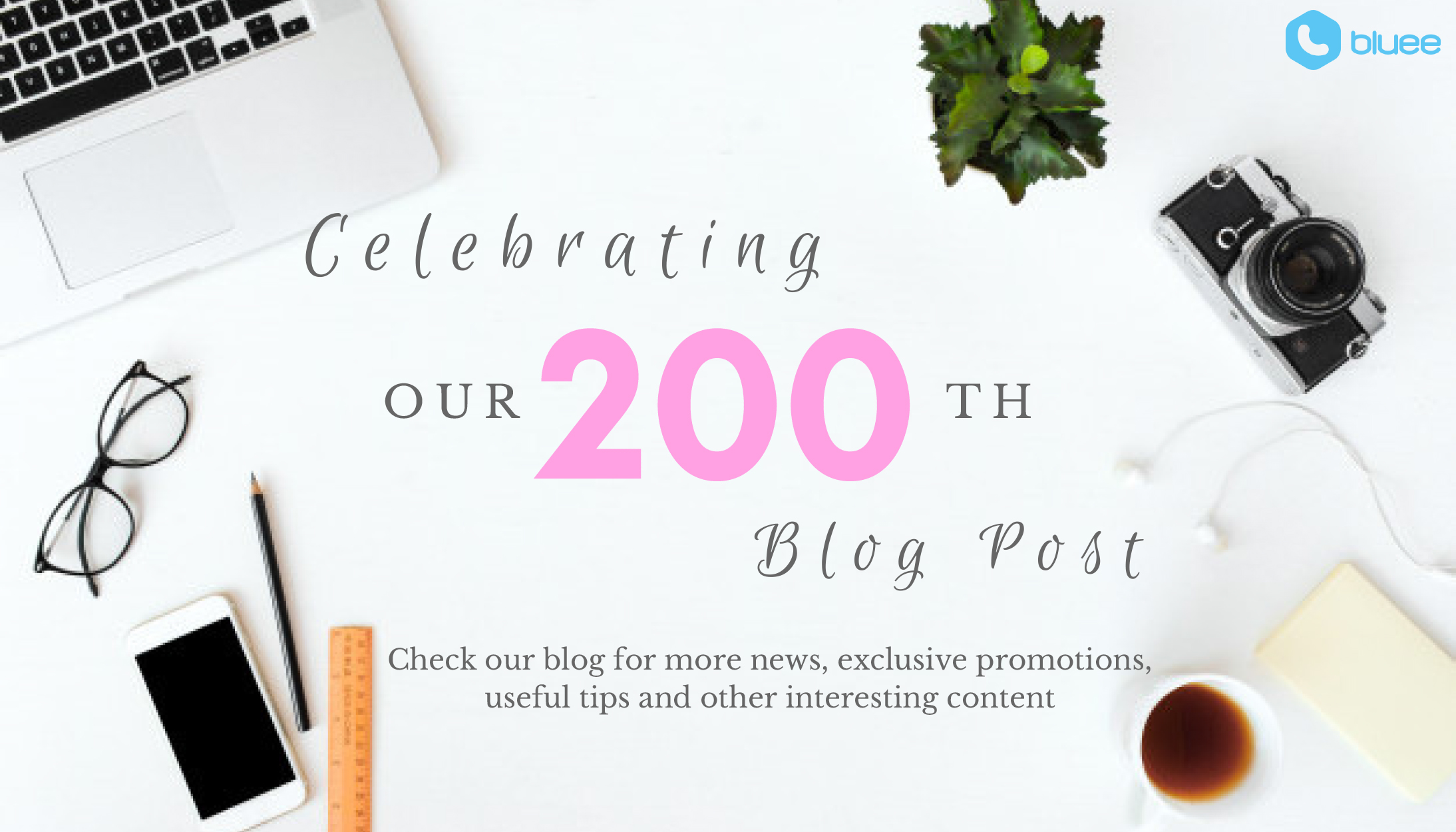 Woo Hoo! It's our 200th blog post!