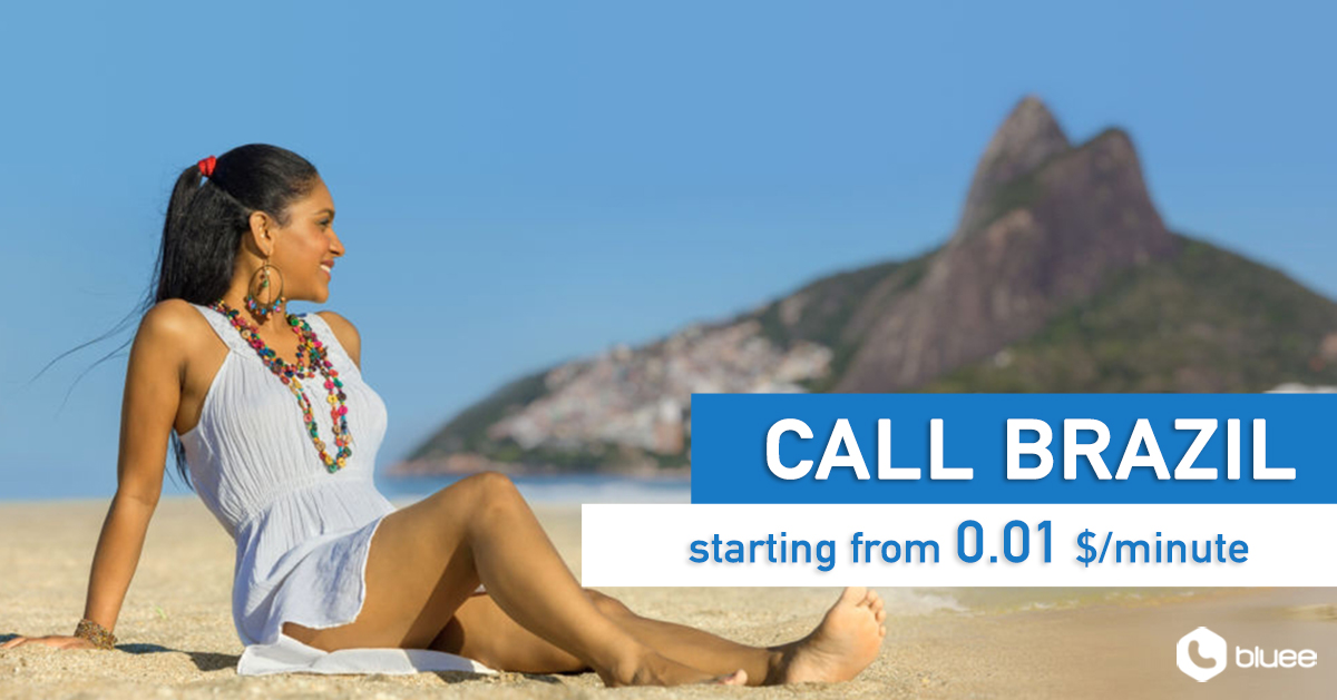 Cheap Calls to Brazil | Call Brazil From $0.01/min!