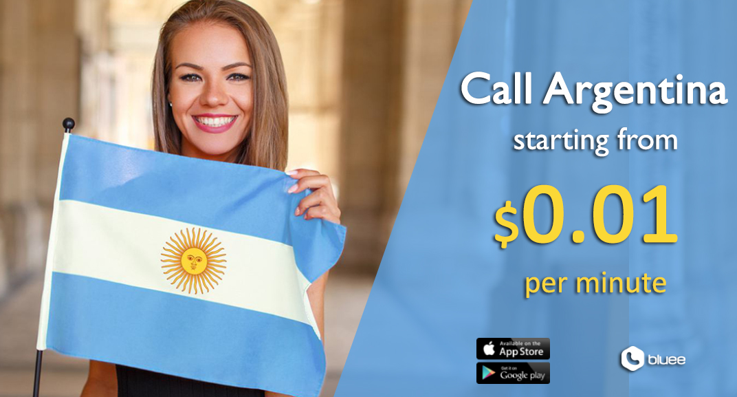 Cheap Calls to Argentina staring from $0.01/min!