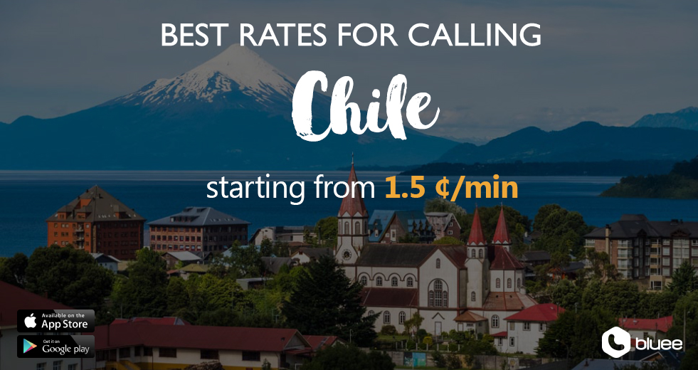 Cheap Calls to Chile | Call Chile From 1.5 ¢/min!
