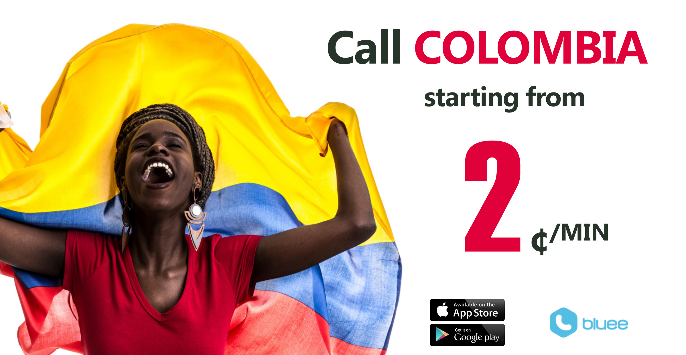 Cheap Calls to Colombia | Call Colombia From 2¢/min!