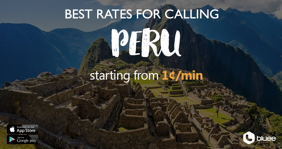 Cheap Calls to Peru | Call Peru From 1¢/min!
